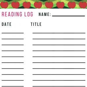 Reading Log September