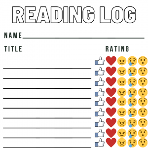Rating Reading Log